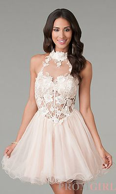 266a5e23a53 Dave and Johnny Designer Prom Dresses - PromGirl - PromGirl. High Neck ...