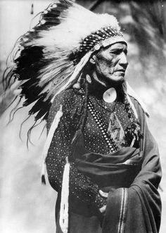 Red Pipe, an Arapaho warrior.  ca. 190p