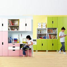 Ikea Stuva arrangement idea