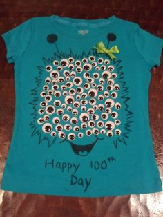 100th Day Shirt...I am so making one of these for myself :} @ polkapics.orgpolkapics.org