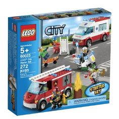 Amazon.com: LEGO City 60023 Starter Toy Building Set: Toys & Games