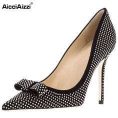 58.64$  Watch now - http://ali8mt.worldwells.pw/go.php?t=32705823108 - Women High Heel Shoes Ladies Pointed Toe Party Shoes Woman Sexy Brand Crystal Dress Pumps Heels Heeled Footwear Size 35-46 B229