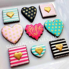 Glam Hearts | Cookie Connection