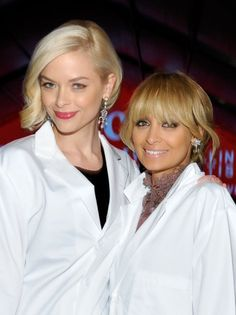 Jaime King and Nicole Richie