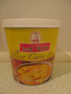 Thai yellow curry paste (Tajska rumena kari pasta) 400g/5,00€