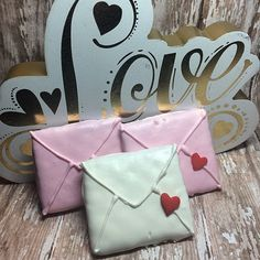 12 Love Letter Chocolate Covered Graham Crackers Classroom Treats Birthday Bridal Shower Treats Sweets Table Candy Valentines Sweetest Day