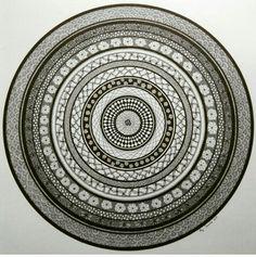 One of my mandalas. More at www.facebook.com/a.ana. darte