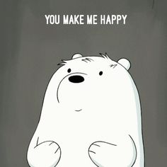 """6,260 Likes, 271 Comments - We Bare Bears (@webarebears.official) on Instagram: """"Tag someone who makes you happy """""""