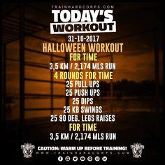 Le nouveau #trainhardcorpstodaysworkout est en ligne!! Un #workout spécial #halloween qui vous sera utile pour échapper à n'importe quel démon et autre esprit mal intentionné. Calisthenics Workout, Body Weight Training, Street Workout, Leg Raises, Push Up, Athlete, Health Fitness, Wellness, Exercise