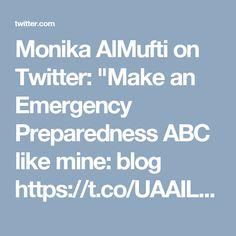 Emergency Preparedness, Hands, Twitter, How To Make, Blog