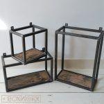 BoxWorx | Meubels | Wandkastjes WOED - industrieel, oud houtBoxWorx