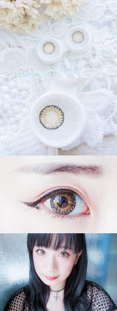 Chainyan✨ : i.Fairy  Moe Moe Grey Lens Review   Korean Beauty, K-Beauty, Contact Lens Reviews, Circle Lens Reviews