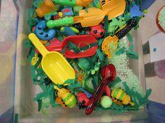 Bugs sensory table