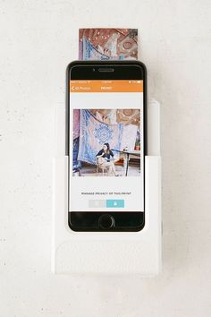 Shop Prynt Smartphone Photo Printer at Urban Outfitters today. Smartphone Printer, Best Smartphone, Urban Outfitters, Photo Printer, Cute Little Things, Cool Technology, Iphone Accessories, How To Take Photos, Cleaning Wipes