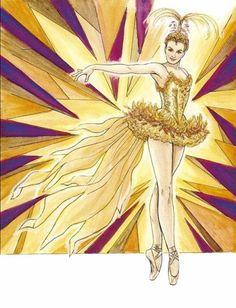 Ballet Costumes Coloring Book (Dover Fashion Coloring Book) by Brenda Sneathen Mattox