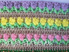 DirkjeSpreeuw Friendship Bracelets, Blanket, Crochet, Blog, Bed Covers, Crochet Hooks, Blankets, Crocheting, Blogging