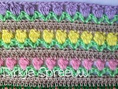 DirkjeSpreeuw Friendship Bracelets, Blanket, Crochet, Blog, Bed Covers, Ganchillo, Blogging, Blankets, Cover