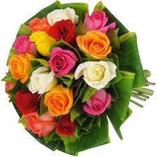 Resultado de imagem para buque de noiva natural flor colorida