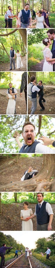 Walking Dead Inspiration - Zombie Weddings | Wedding Planning, Ideas & Etiquette | Bridal Guide Magazine