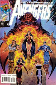 Avengers # 371 by Steve Epting & Tom Palmer