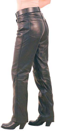 Lambskin Leather Pants for Women