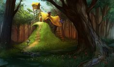 The Wizard's Cottage by ~Alicechan on deviantART