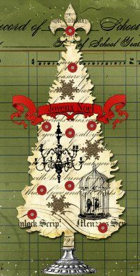 A little French Christmas Tree by Blissfull Elements
