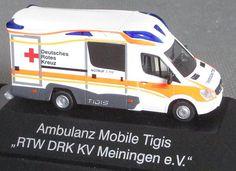 Rettungswagen 1/87