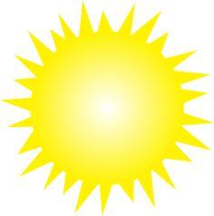shining sun clip art - Google Search