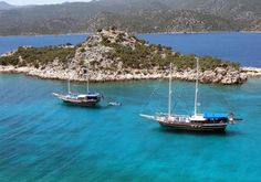 Blue Cruise in Turkey - Luxury Blue Cruises in Turkey
