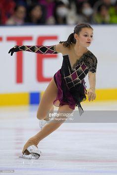 Sofia Samodurova of Russia competes in the junior women's free program during the ISU Junior Grand Prix of Figure Skating - Yokohama on September 11, 2016 in Yokohama, Japan.
