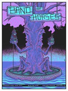 Image of Band of Horses at the Ventura Theatre - Ventura, CA 04/18/2013