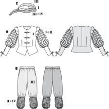 Afbeeldingsresultaat voor naaipatroon zwarte pietenpak volwassenen
