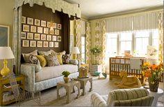 What a fabulous nursery! Source: Cote de Texas Designers Joe Lucas and Parrish Chilcoat of Lucas Studio - West Hollywood, CA - http://lucasstudioinc.com/portfolio/stately_homes_by_the_sea_showhouse