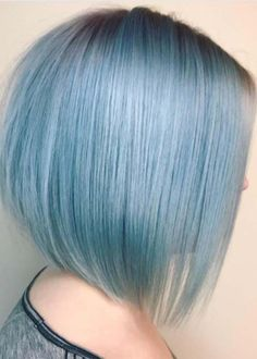 If you want to look sensational and hot then blue short haircuts for fine hair is one of the best options for you to sport in 2018. Top prove that fine hair are unique and best option for ladies to wear and show off in 2018, we have collected here a fresh list of blue colored short fine haircuts to flaunt in 2018.