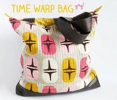 Time Warp bag carinascraftblog
