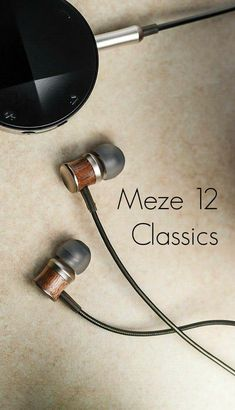 The Meze 12 Classics uses solid walnut casings to create the best possible audio quality with crystal clear highs and booming bass. If you are tired of the ubiquitous iPhone/iPod white ear buds, these earbuds are a refreshing change. The wooden casing gives the earbuds a stylish look that is perfect fusion of modern styling with old school material. Audio Music, Wooden Case, Audio Equipment, Ipod, Bass, Change, Crystal, Stylish, Create