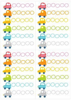 Pikku Kakkosen tulostettava autopuuha | lasten | askartelu | kesä| käsityöt | koti | värittäminen | free printable pattern | counting cars | DIY ideas | kid crafts | summer | home | colouring | Pikku Kakkonen