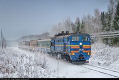 RailPictures.Net Photo: Russian Railways 2TE10U at Yuryev-Polsky, Vladimir region, Russia by Ilya Semyonoff