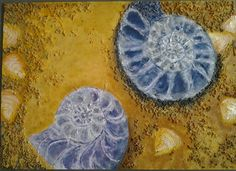 Shells. By Leigh End Of Year Party, Art Party, Artist At Work, Shells, Student, Paintings, Conch Shells, Paint, Seashells