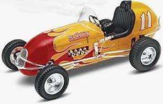 USA Motor Sports Car - Kurtis Midget Racer - Model Cars from www.squadron.com