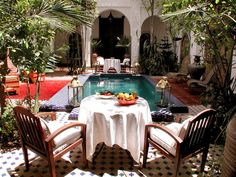 Luxury Courtyards and Patio Garden Maroccan Style Design and Decorating Ideas, Photo  Luxury Courtyards and Patio Garden Maroccan Style Design and Decorating Ideas Close up View.