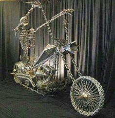 Skulls Bike