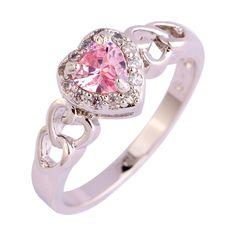 Valentine's Day Pink Love Ring