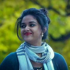 Keerthi Suresh Shy Look Beautiful Muslim Women, Beautiful Girl Indian, Most Beautiful Indian Actress, Beautiful Actresses, South Indian Heroine, South Indian Actress, Hot Actresses, Indian Actresses, Beauty Full Girl