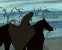 Animation Art:Production Cel, The Lord of the Rings Ringwraith and Horse Production Cel(United Artists, 1978)....