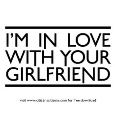 CITIZENS! - (I'm In Love With Your) Girlfriend - Free Mp3 Download - viinyl #electro #alternative