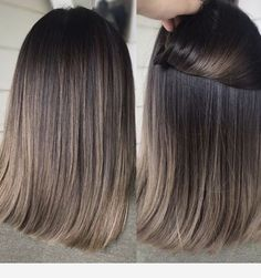 Charcoal hair tone You are in the right place about Hairstyle for school waves Here we offer you the Cool Tone Brown Hair, Brown Hair With Blonde Highlights, Brown Hair Balayage, Balayage Brunette, Light Brown Hair, Hair Color Balayage, Brown Hair Colors, Hair Highlights, Ash Brunette