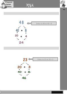 9. Πώς βρίσκω το μισό και το διπλάσιο