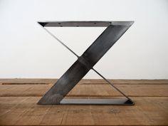 16 X-Frame Flat Steel Tischbeine Bench Beine Höhe 12 von Balasagun